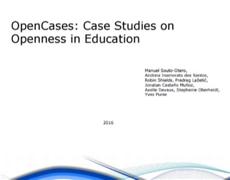 A case study of The Good School: Examples of the use of